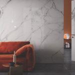 rivestimento parete effetto marmo