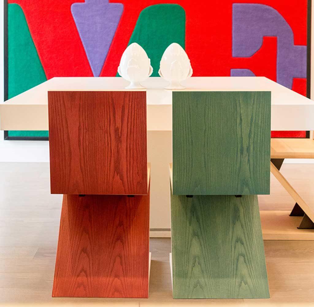 sedie legno salvaspazio