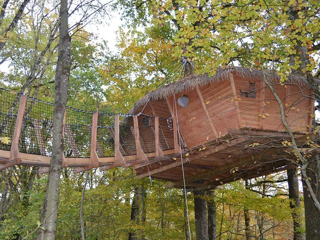casa legno sopraelevata vacanze francia