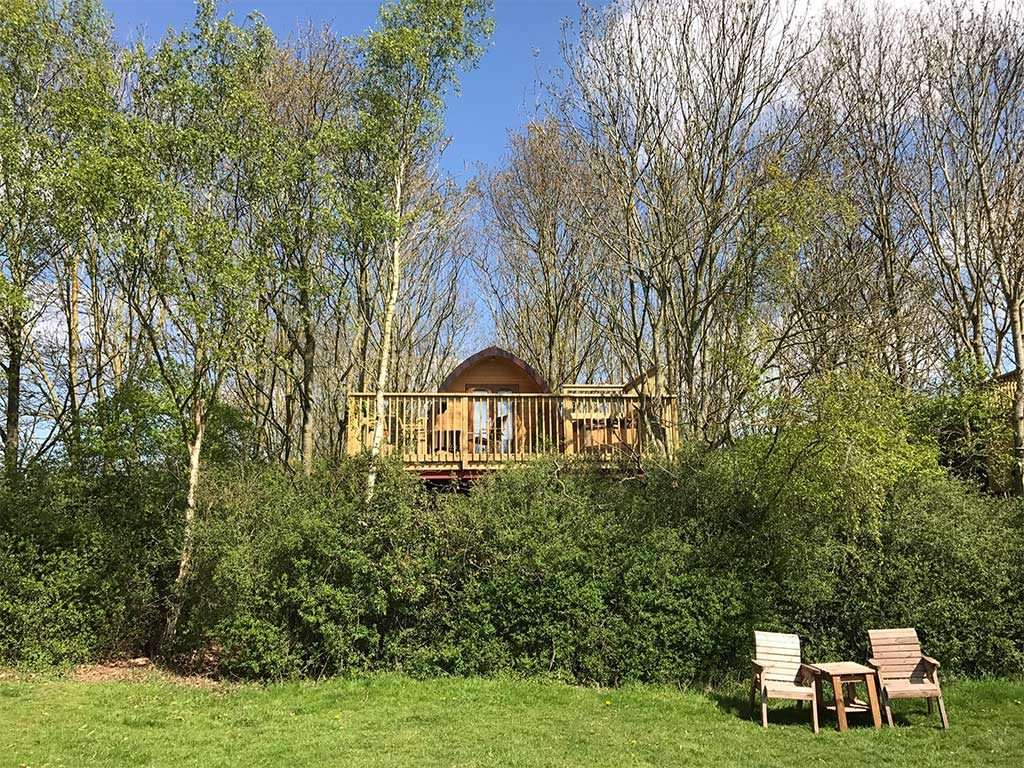 casa vacanza legno inghilterra