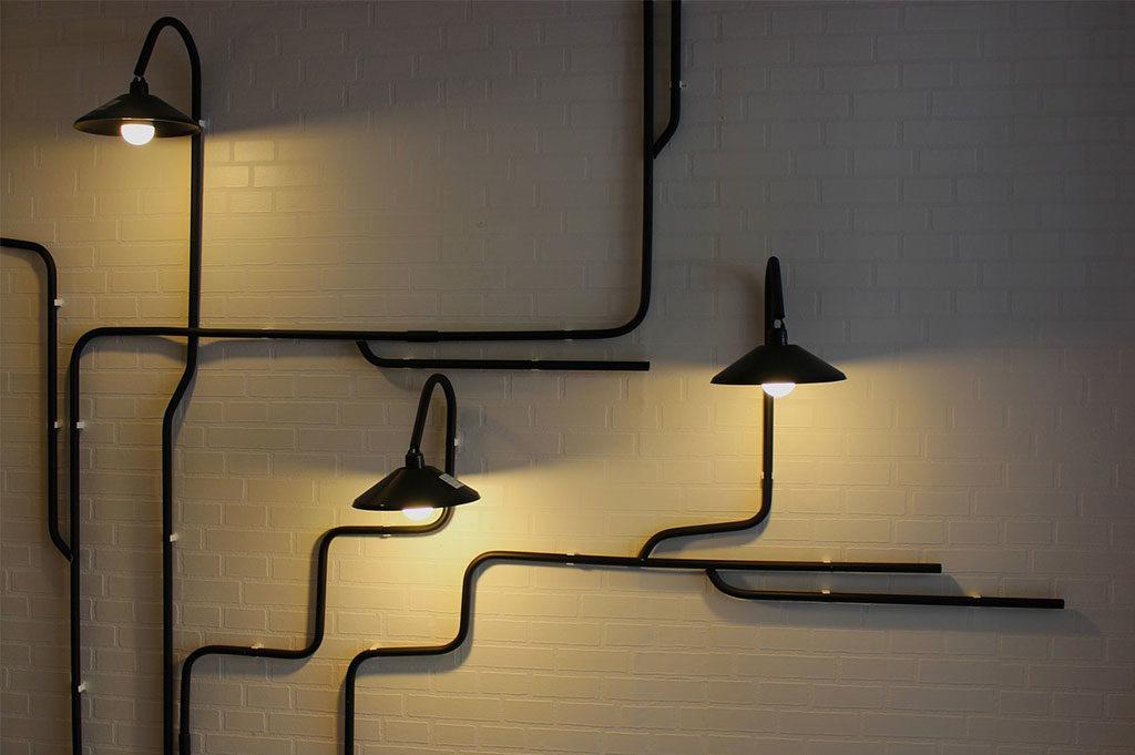 illuminazione parete design