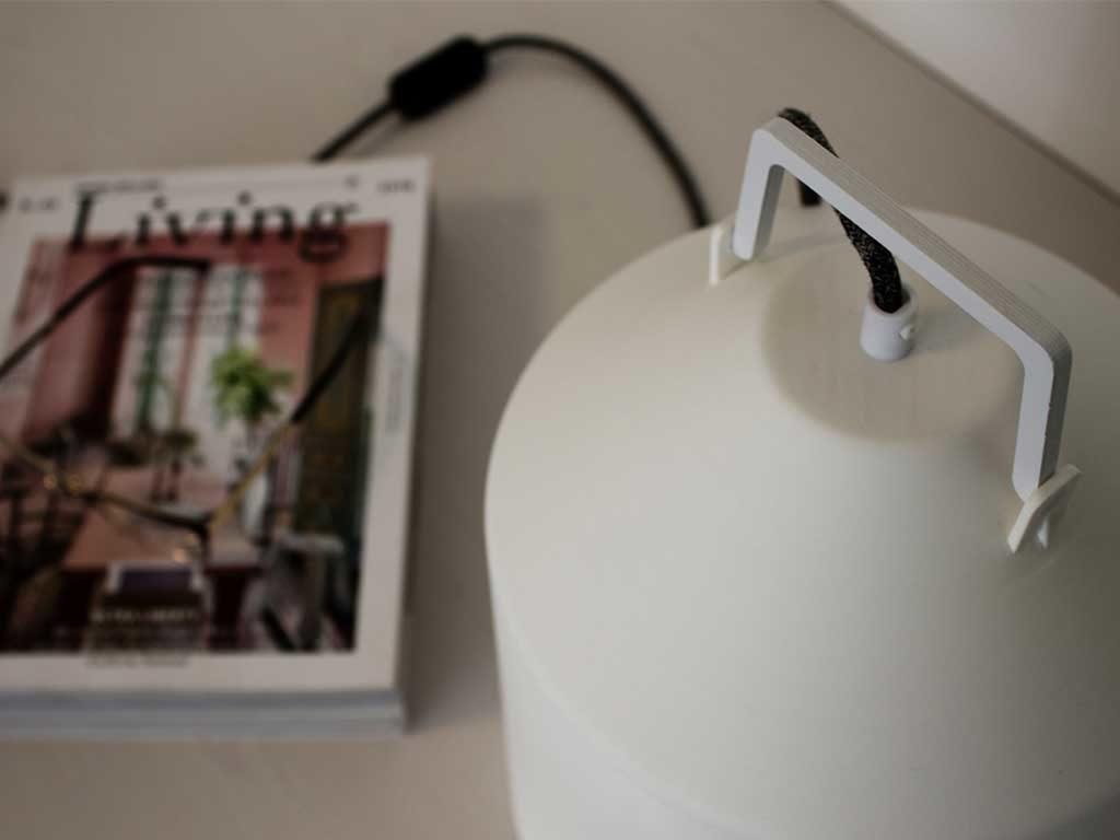 particolare lampada boero