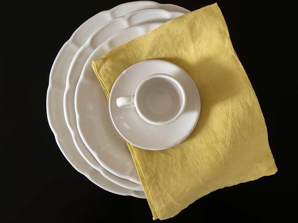 piatti e tazzina ceramica vietri