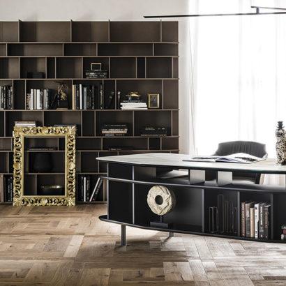 scrivania nero design