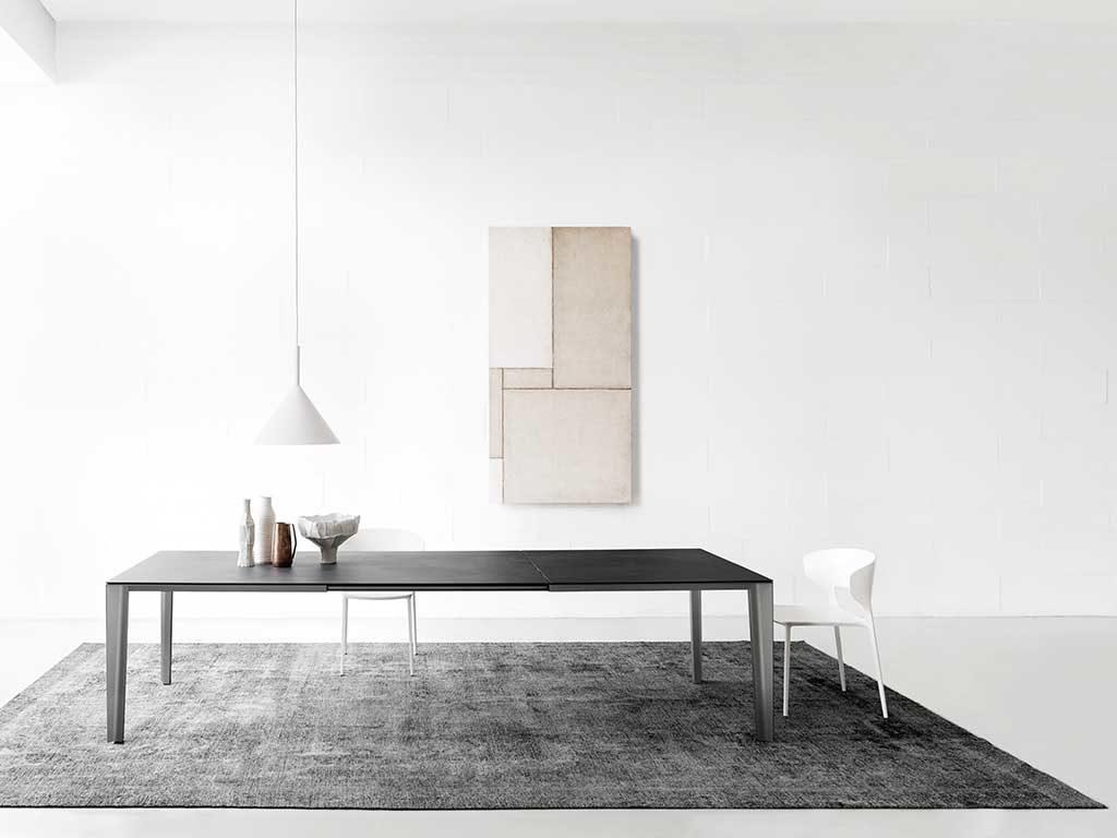 tavolo allungabile living antracite