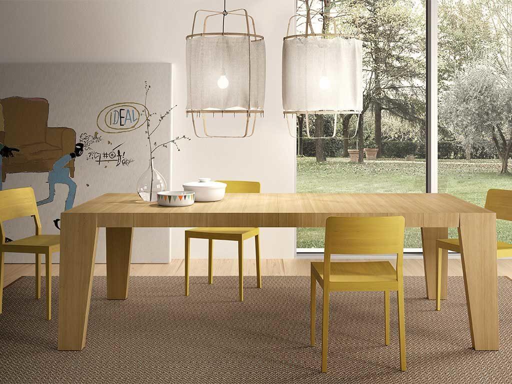 tavolo legno living