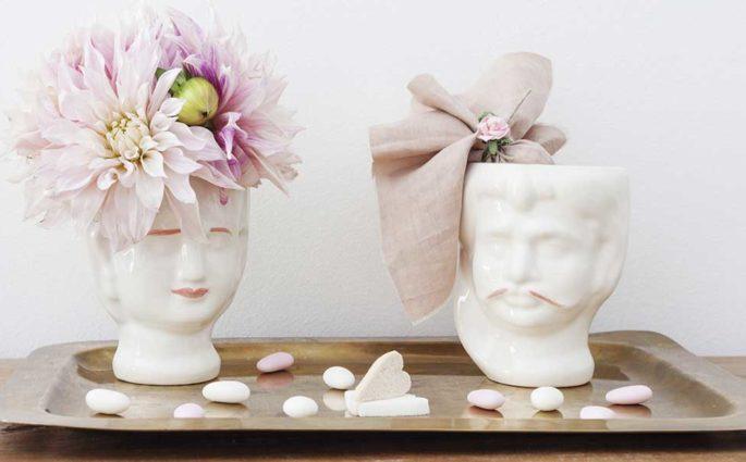 vasi teste ceramica