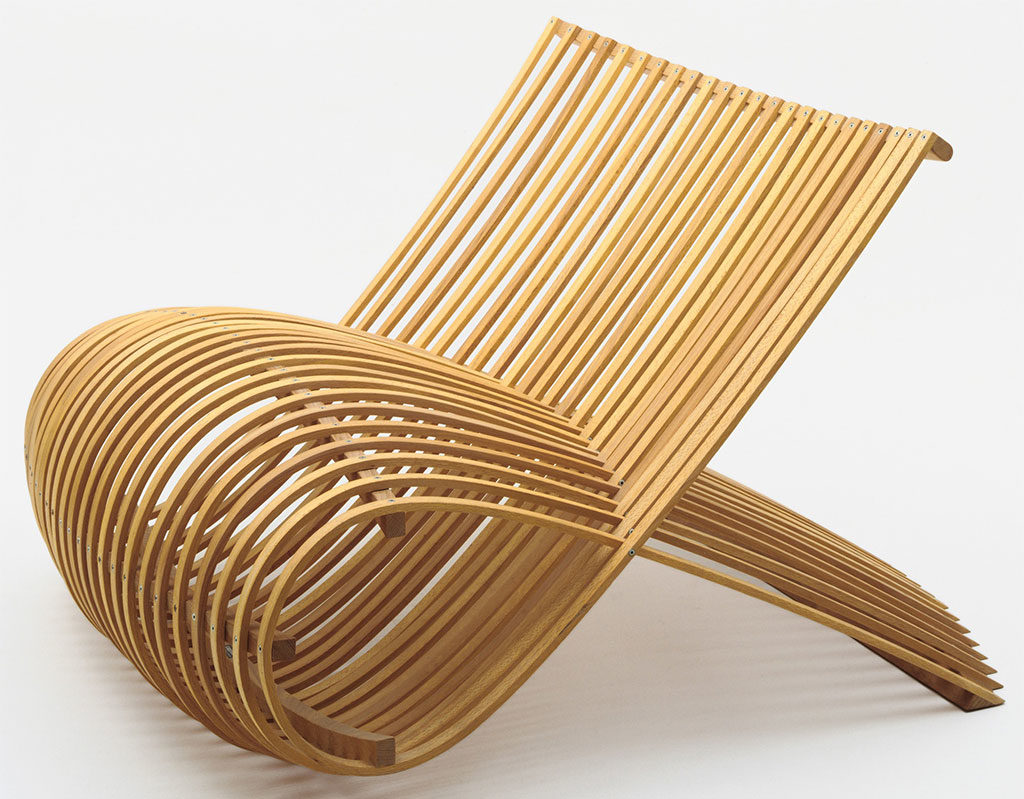 wooden chair design newson