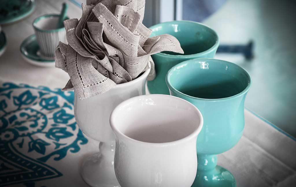 bicchieri ceramica colorati