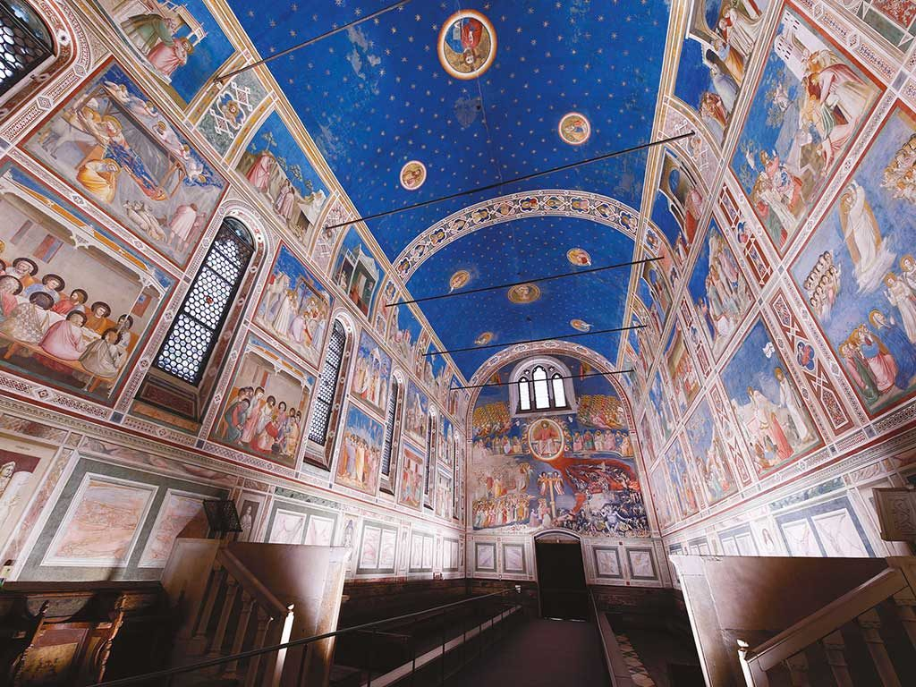 cappella scrovegni illuminata