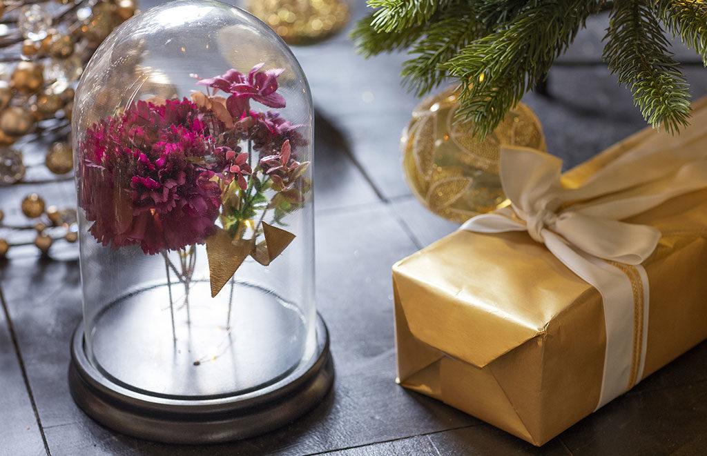 fiori campana di vetro
