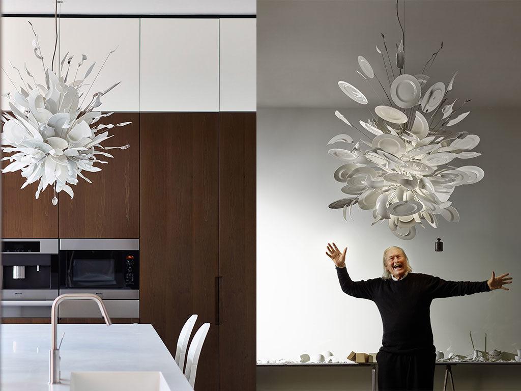 lampada design piatti maurer