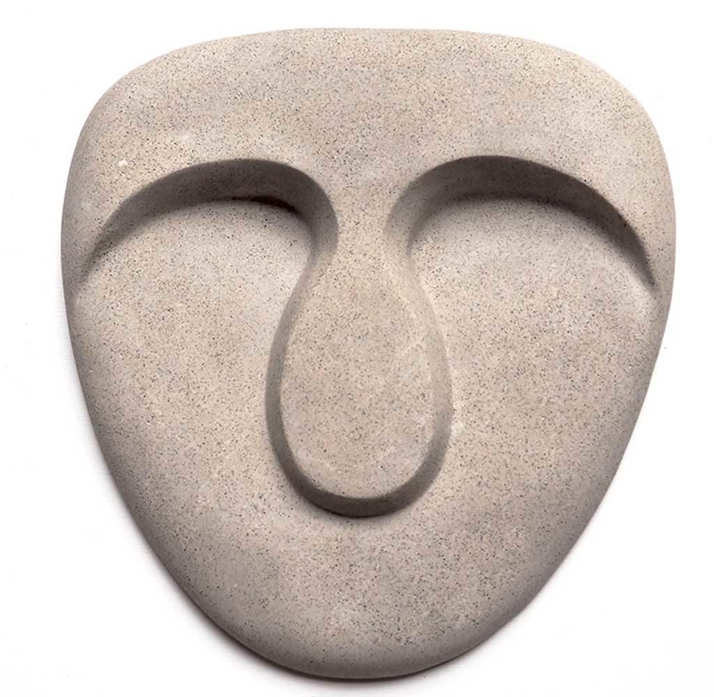 maschera di stucco