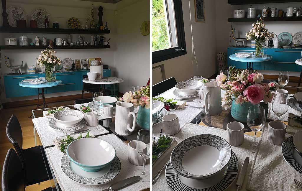 oggetti tavola ceramica