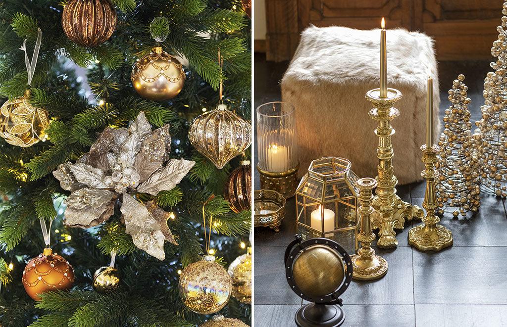 palline albero natale candelabro lanterna