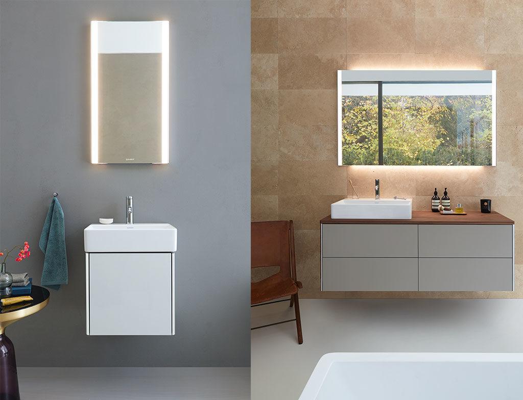 specchi illuminati bagno