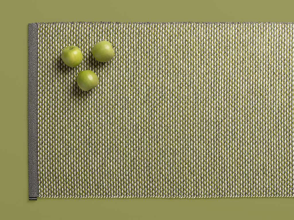 tappeto cucina verde mela