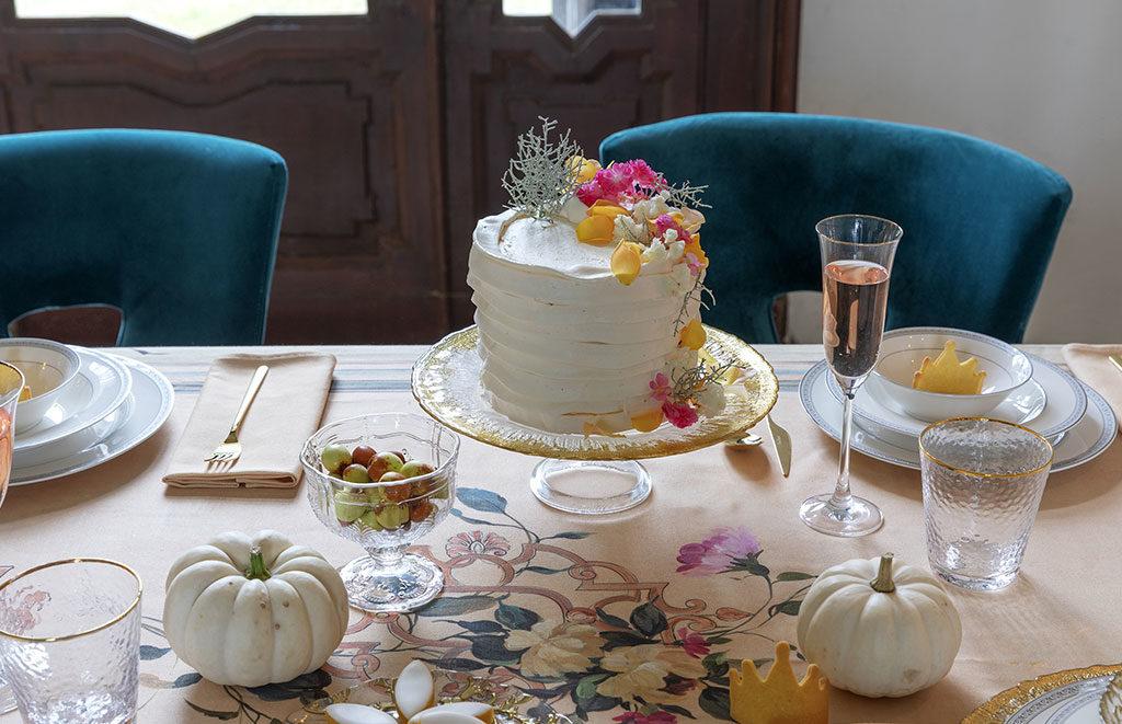 tavola natale torta