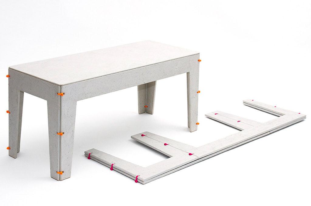 tavolo assemblabile design