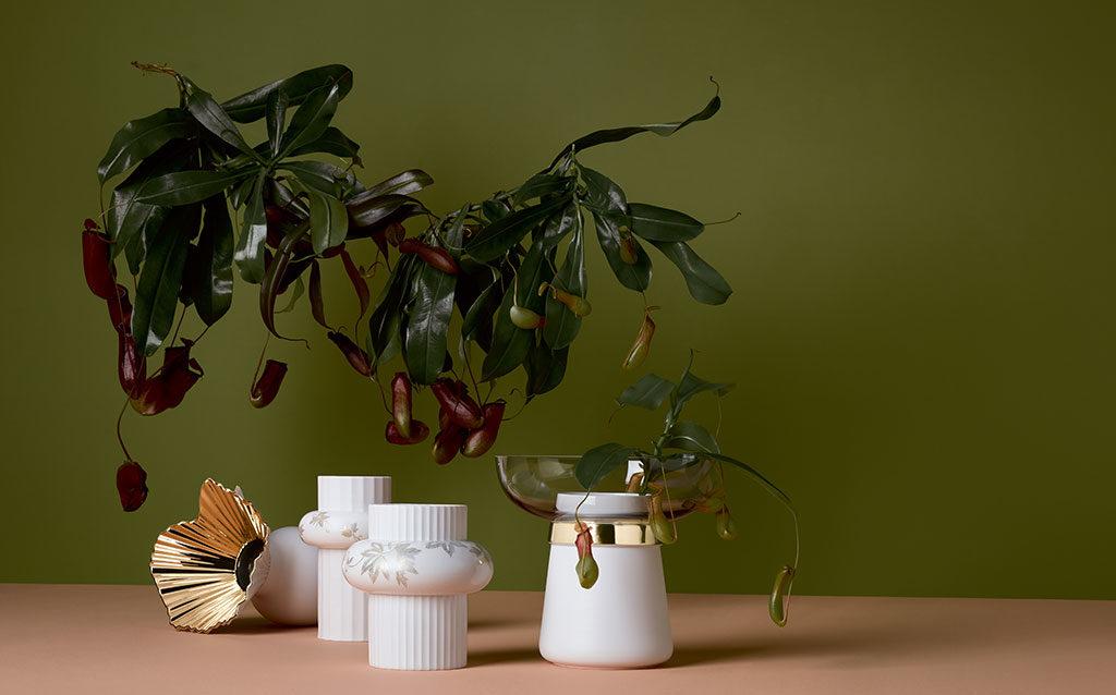 vasi ceramica e oro