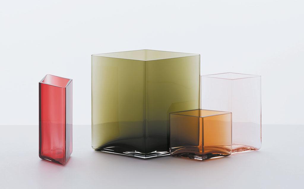 vasi vetro colorato