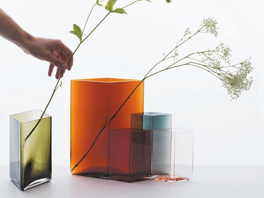 vasi vetro fiori