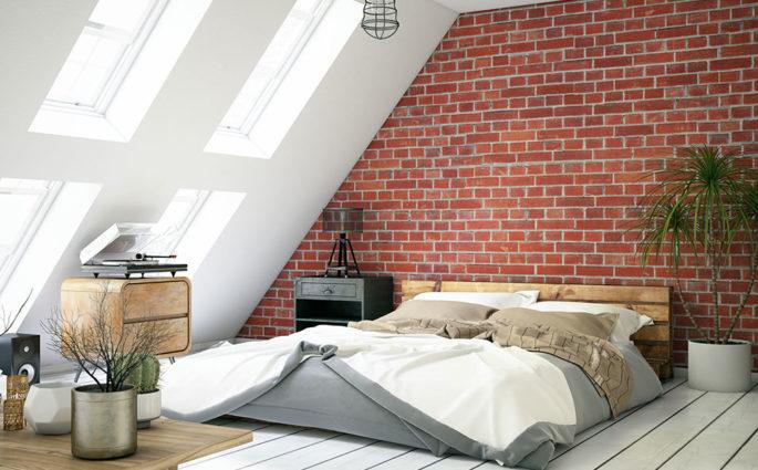 camera da letto accogliente rifugio