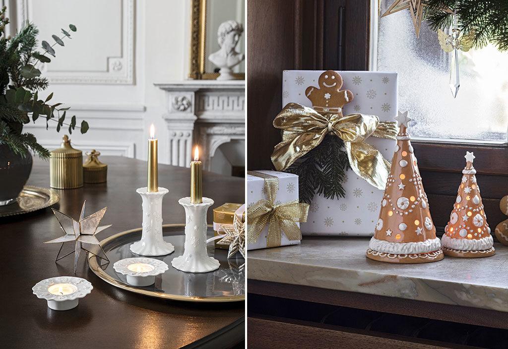 candele e decori natale