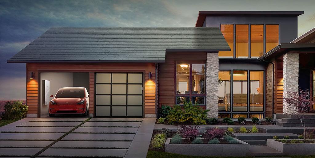 casa indipendente tetto fotovoltaico