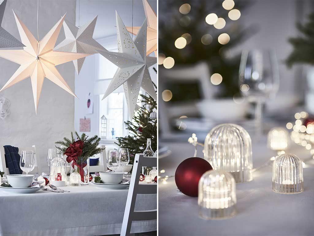 decorazioni per tavola di natale