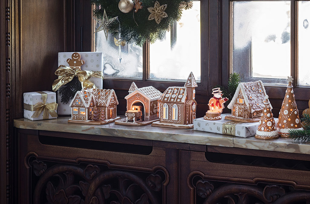 decorazioni winter bakery