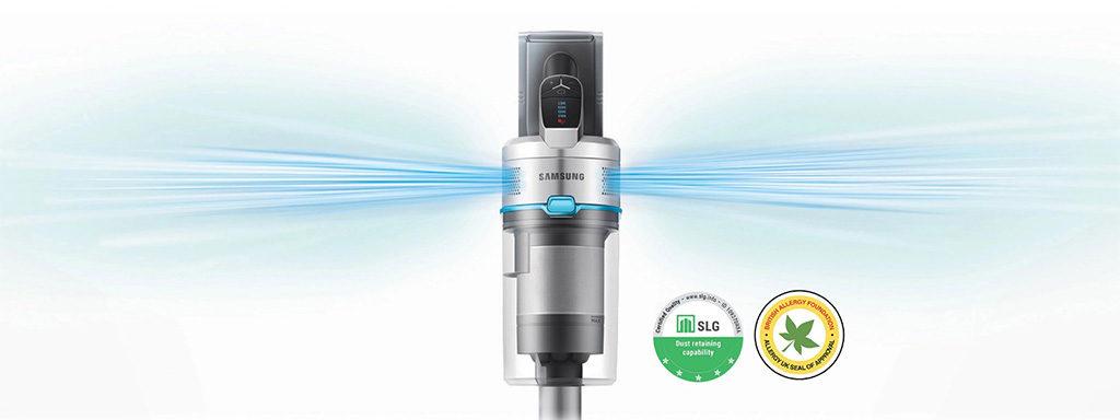 filtro hepa scopa elettrica cordless