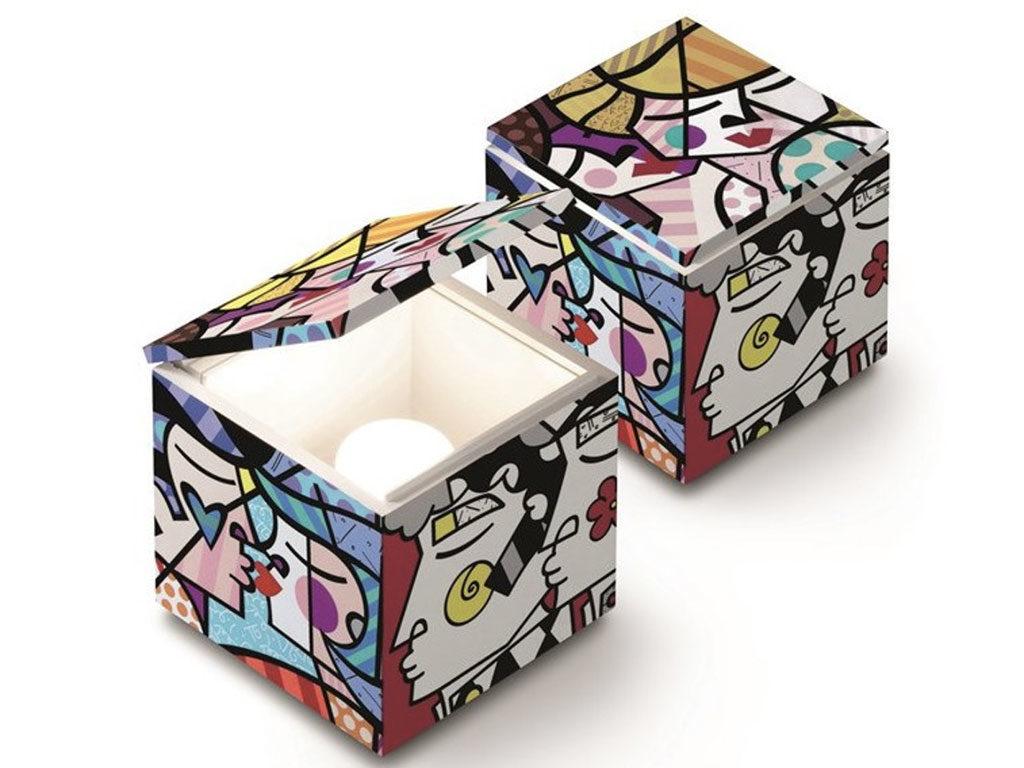 lampada cubo scatola