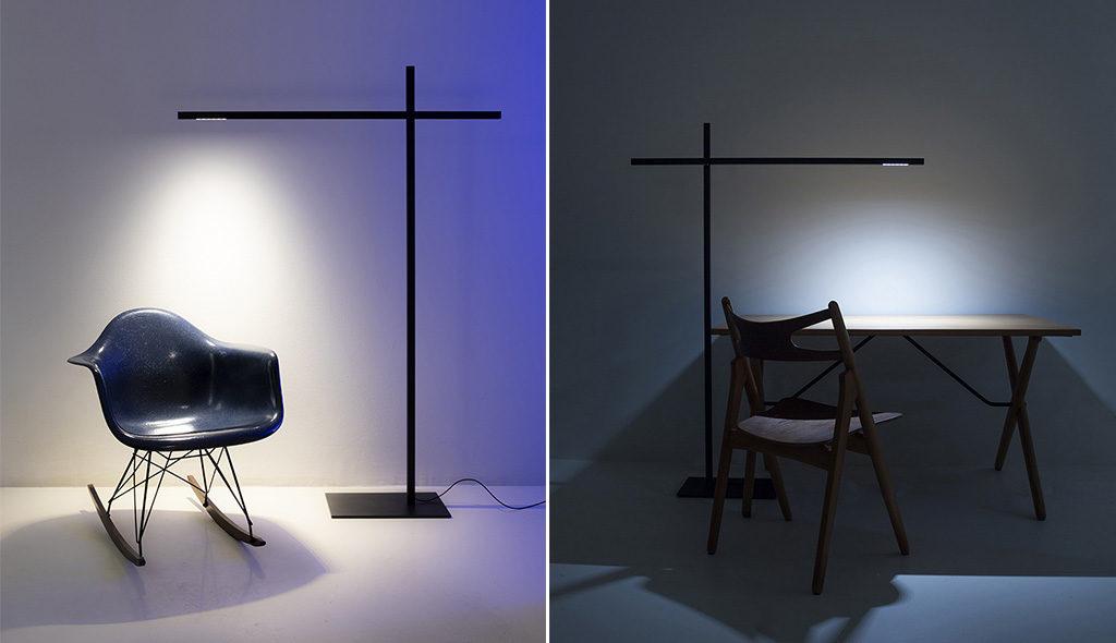 lampada terra design scrivania