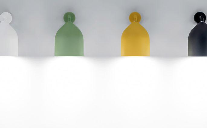 lampade parete colorate