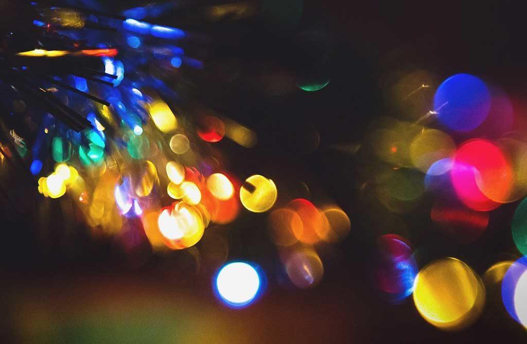 luci natale albero