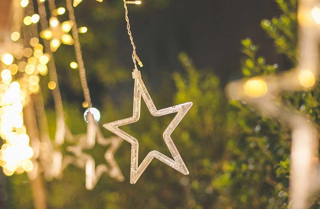 luci natale stella