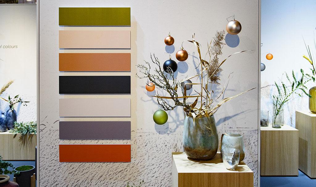 palette colori naturali decorazioni