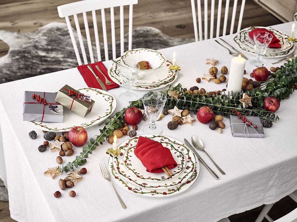 piatti tavola natale
