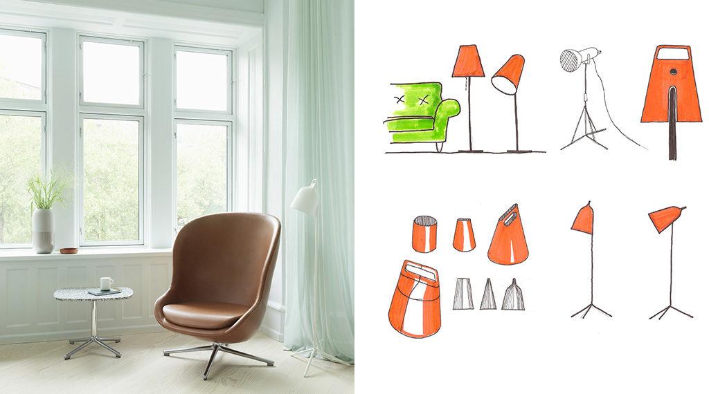 progetto lampada design