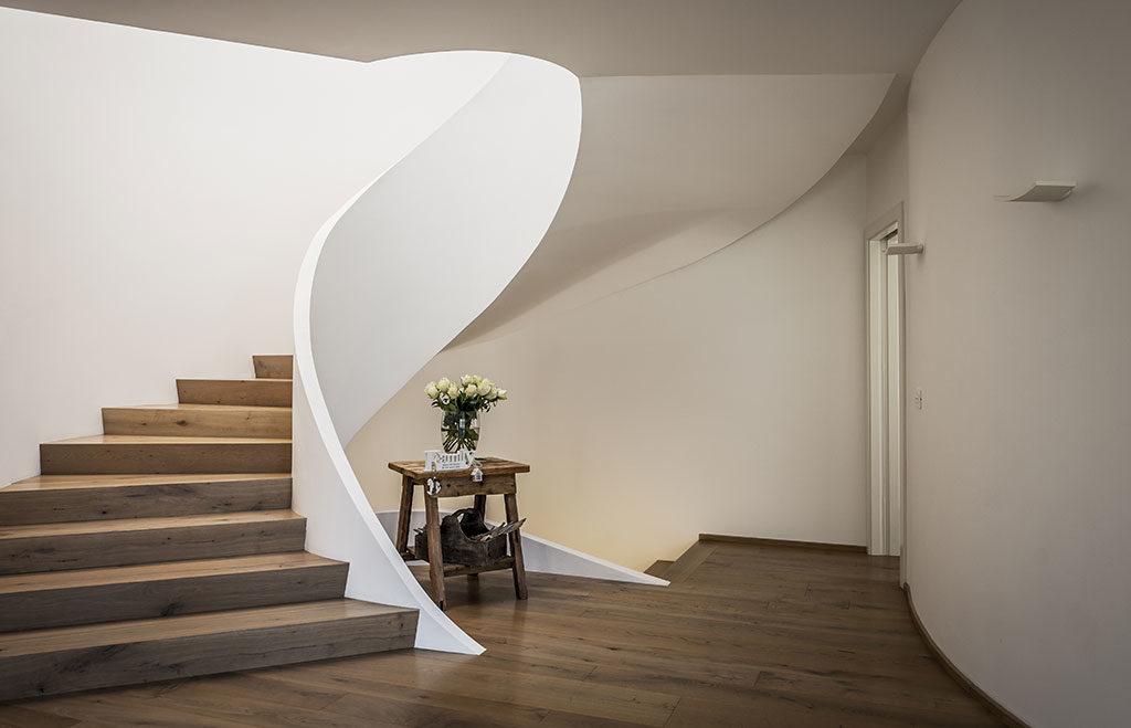 scala interna casa legno