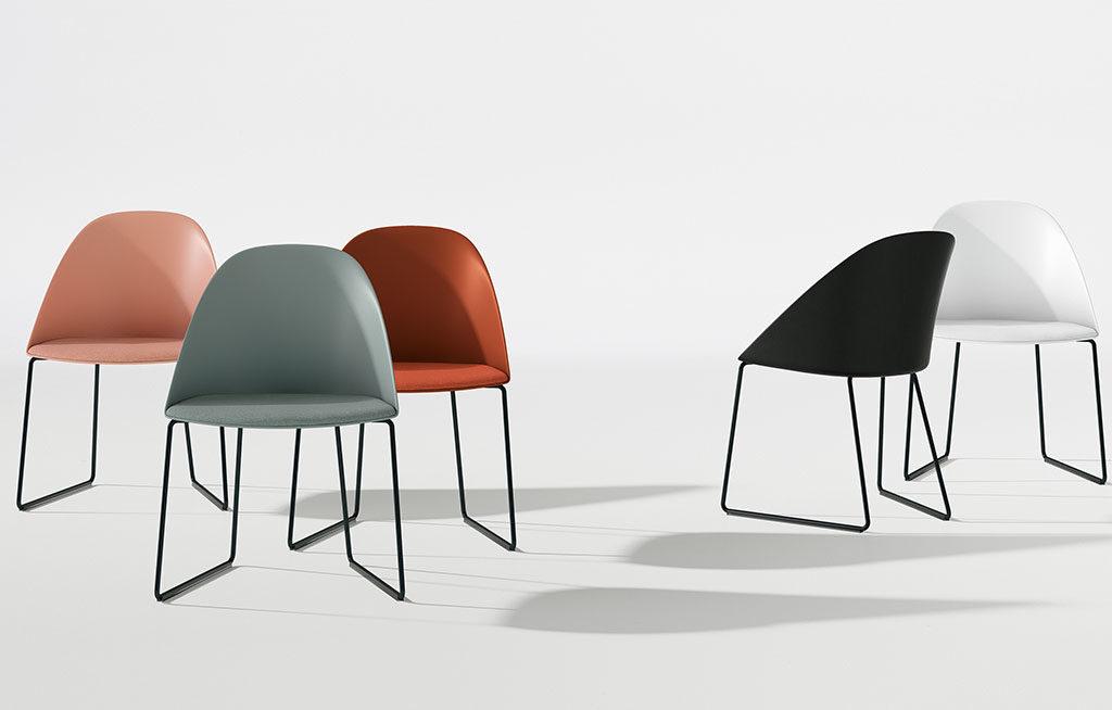 sedie da ufficio colorate