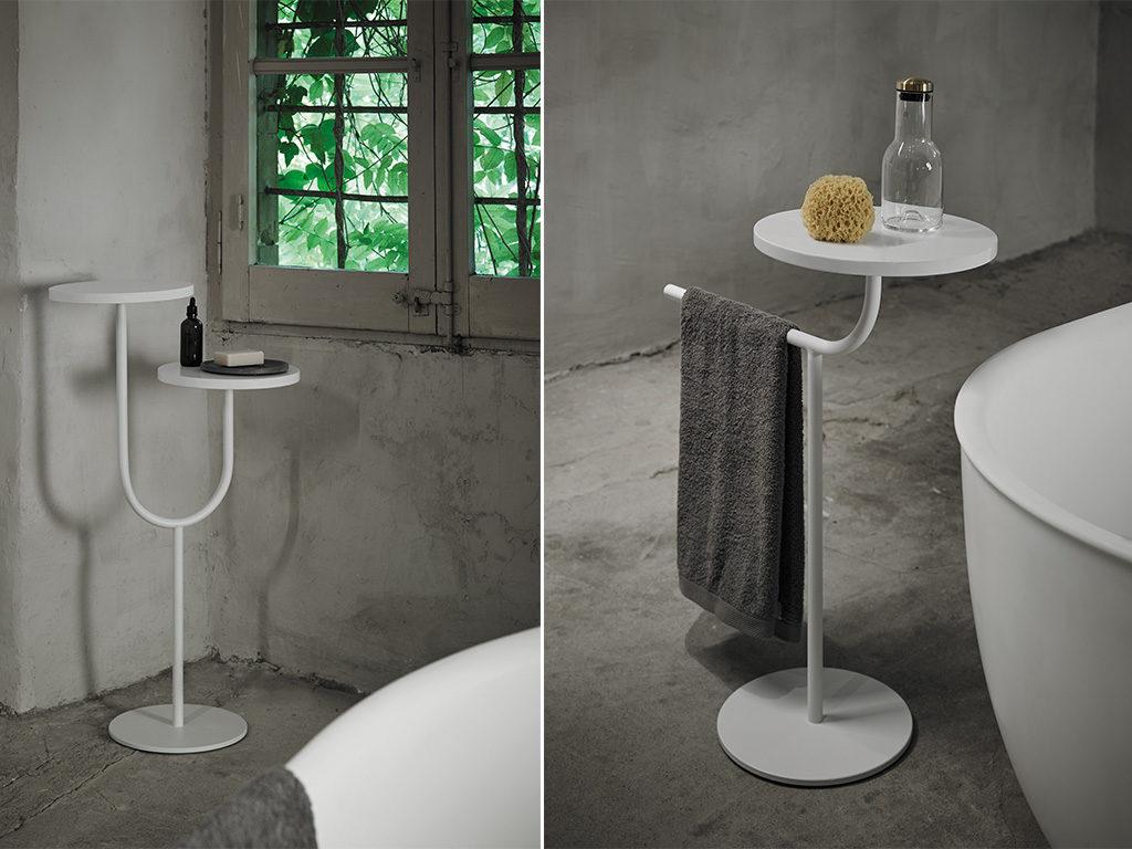 tavolino mensola portasalviette design