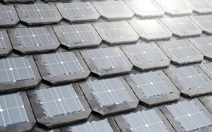 tegole fotovoltaiche tetto ardesia