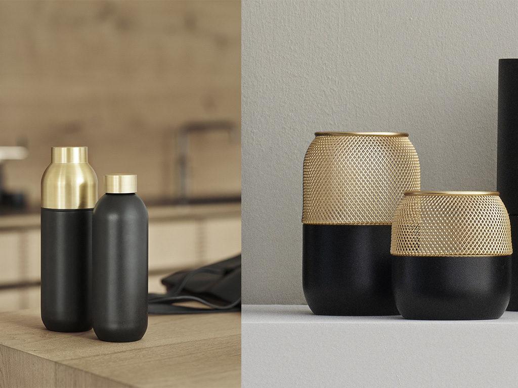 thermos bottiglia e tealight design