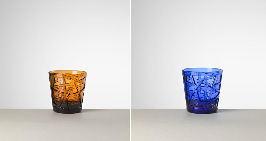 tumbler colorati cristallo sintetico