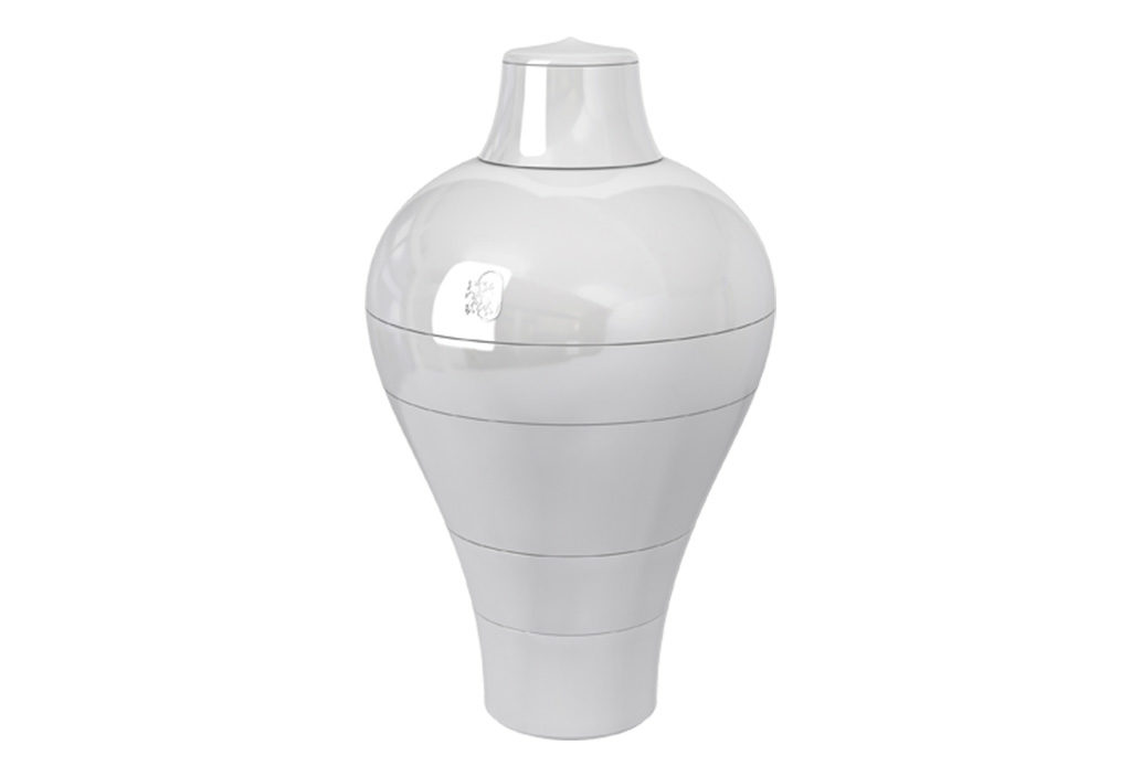 vaso ming bianco design