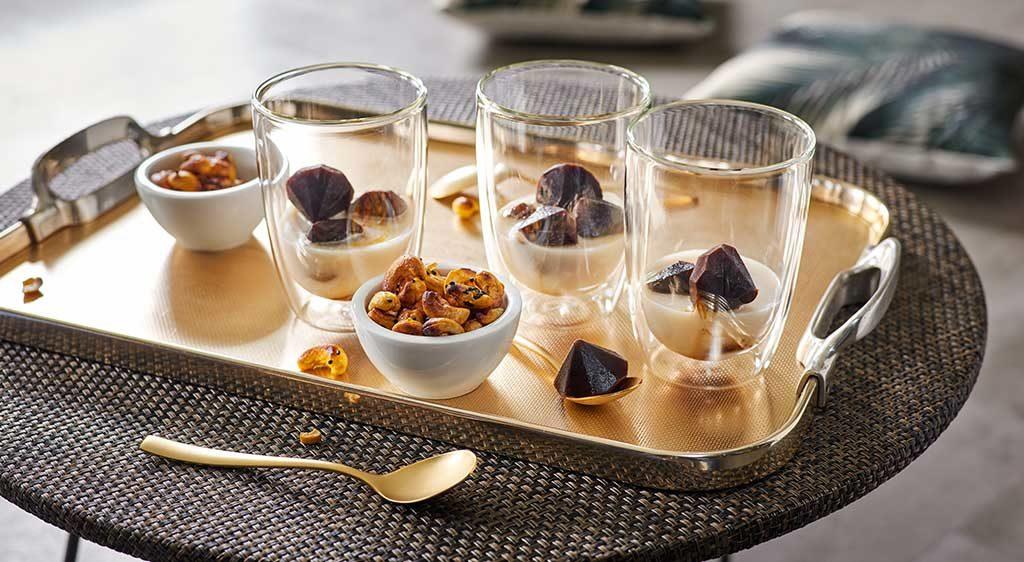 bicchieri caffe vetro