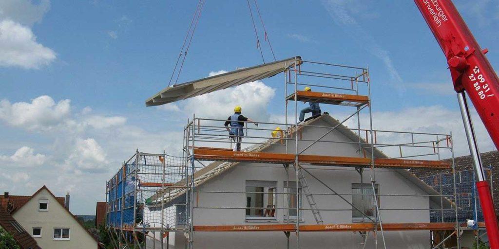 casa tetto prefabbricato