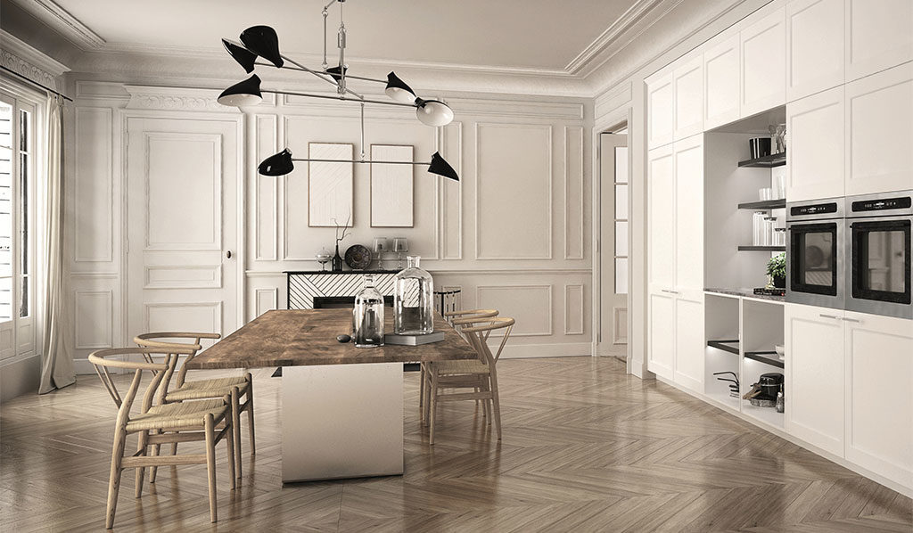 cucina moderna grande